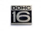 DOHC 16 embléma (B202)