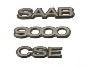 9000 CSE embléma + SAAB (5CS) 1993